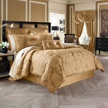 Colonial Gold Comforter Set - 846339065095