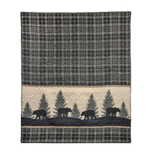 Bear Walk Plaid Throw - 754069334308