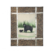 Birch Bear Throw - 754069611300