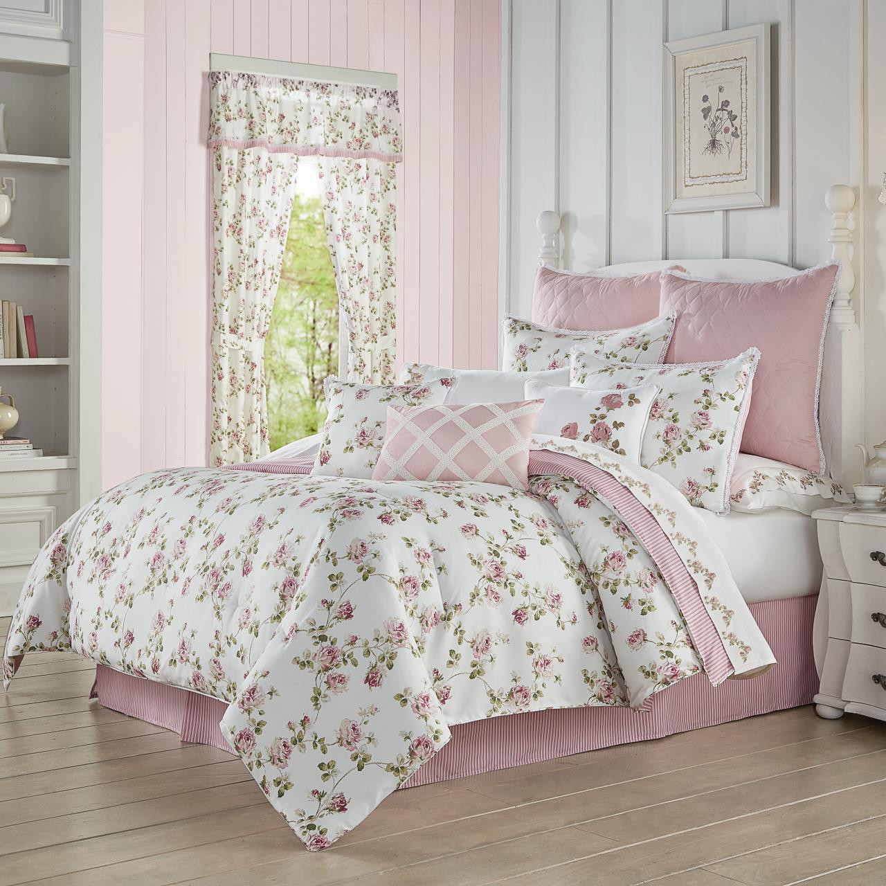 Rosemary Rose Bedding Collection -