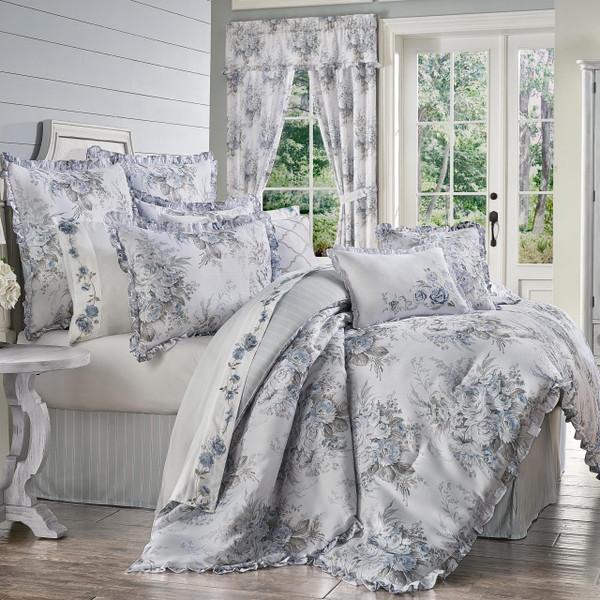 Estelle Blue Bedding Collection -