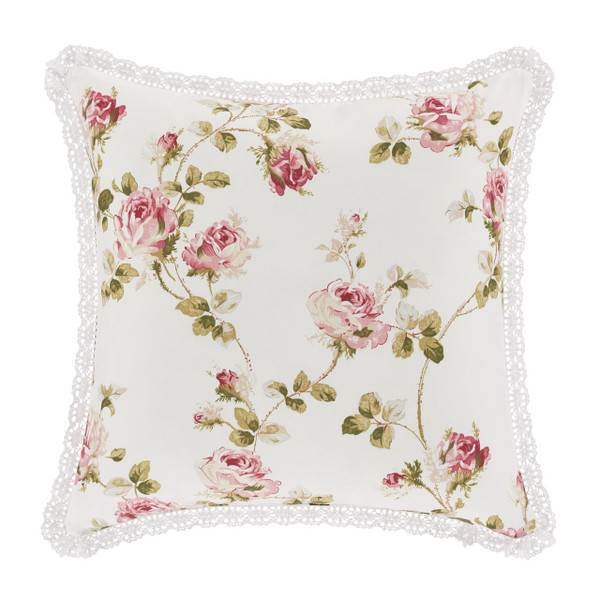 """Rosemary Rose 16"""" Square Pillow - 193842102527"""
