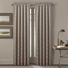 Cracked Ice Taupe Curtain Pair - 193842104774