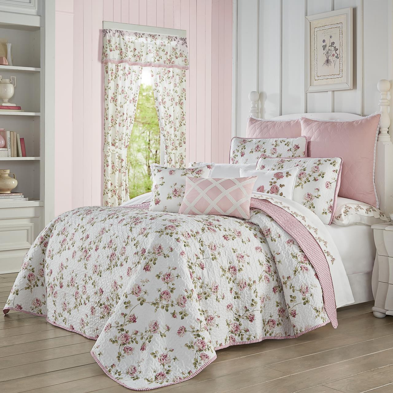 Rosemary Rose Quilt Set - 193842102572