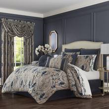 Luciana Indigo Comforter Set - 193842103777