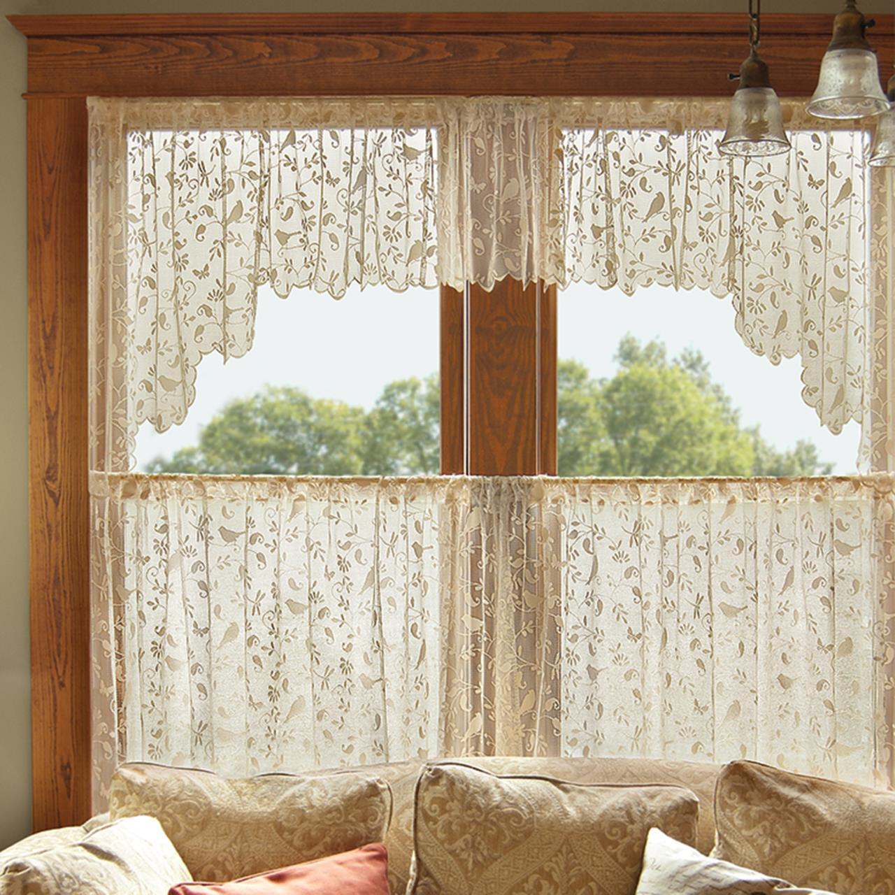 Bristol Garden Lace Curtain Collection -