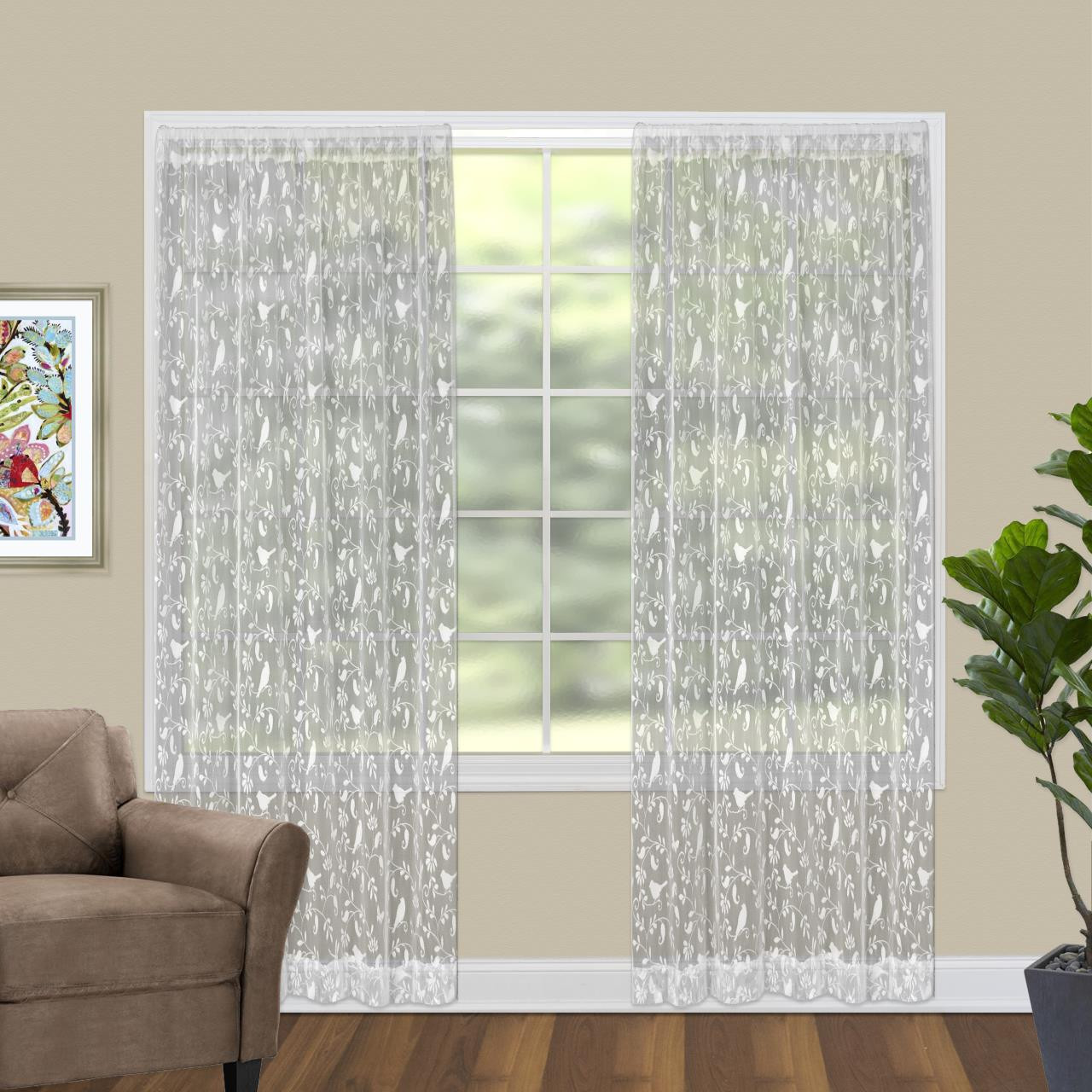Bristol Garden Lace Curtain Collection -