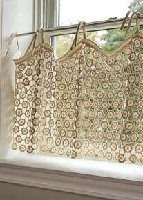 Crochet Envy Lace Curtain Collection -