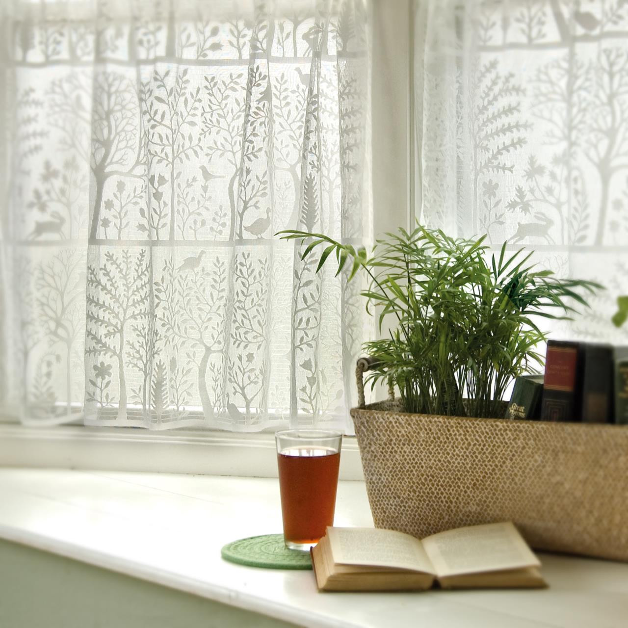 Rabit Hollow Lace Curtain Collection -