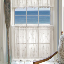 Sand Shell Lace Curtain Collection -