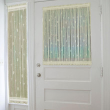 Sand Shell Lace Door Panel - 734573098064