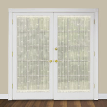 Dragonfly Lace Door Panel - 734573095834