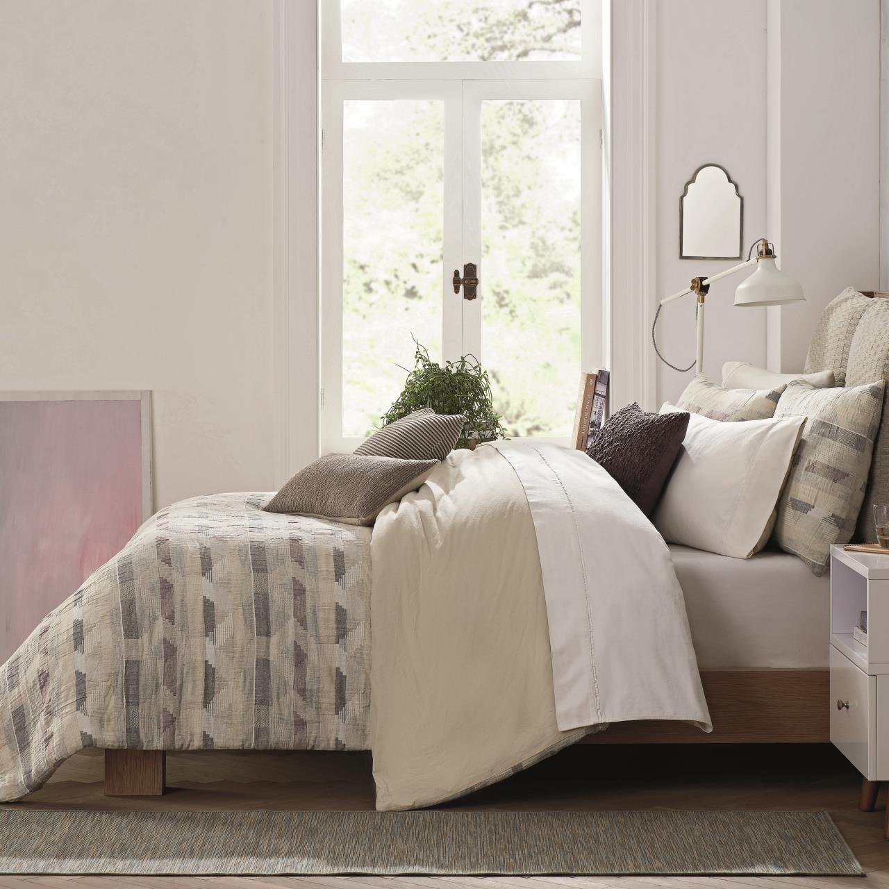 Ash Heather Gray Bedding Collection -