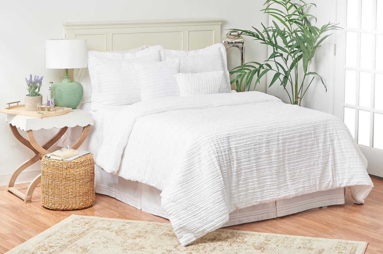 Eyelashes White Comforter Set By C F Home Paul S Home Fashions