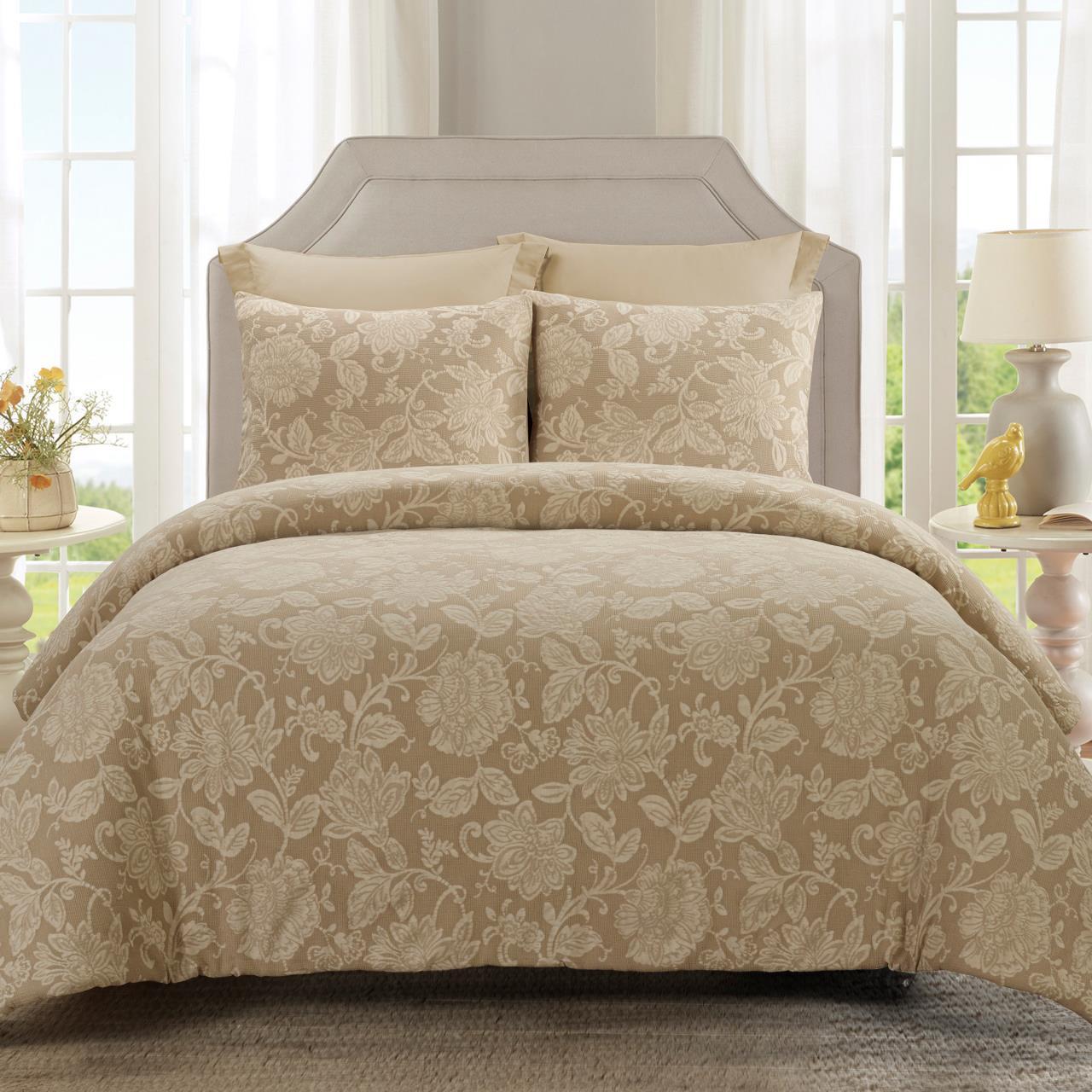 Amadora Cappuccino Comforter Set - 754069006533