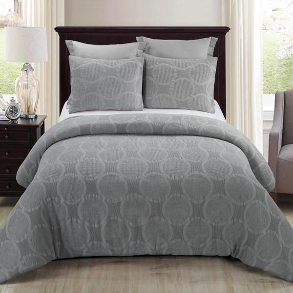 Leon Grey Comforter  Set - 754069006519