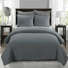 Seville Grey Comforter Set - 754069006700