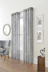 Anemone Floral Sheer Curtain - 069556526136