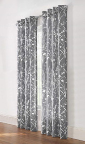 Bradford Semi Sheer Grommet Curtain - 069556519596