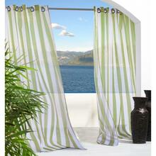 Escape Stripe Outdoor Grommet Curtain - 069556458215