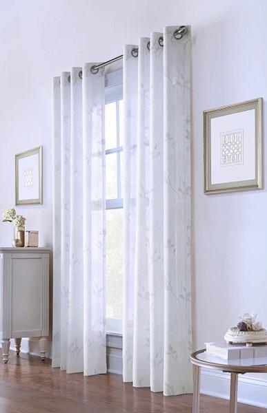 Giardino Floral Grommet Curtain - 069556526211