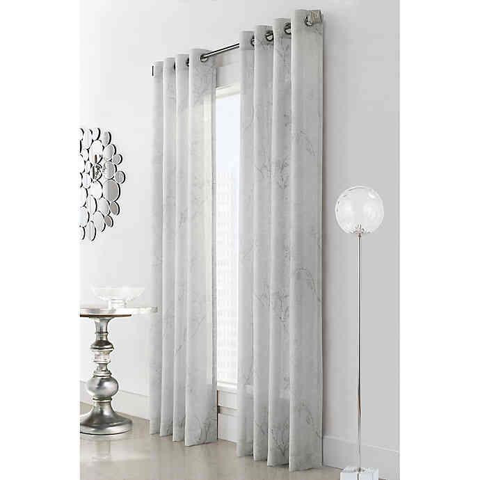 Triston Sheer Grommet Curtain - 069556525320