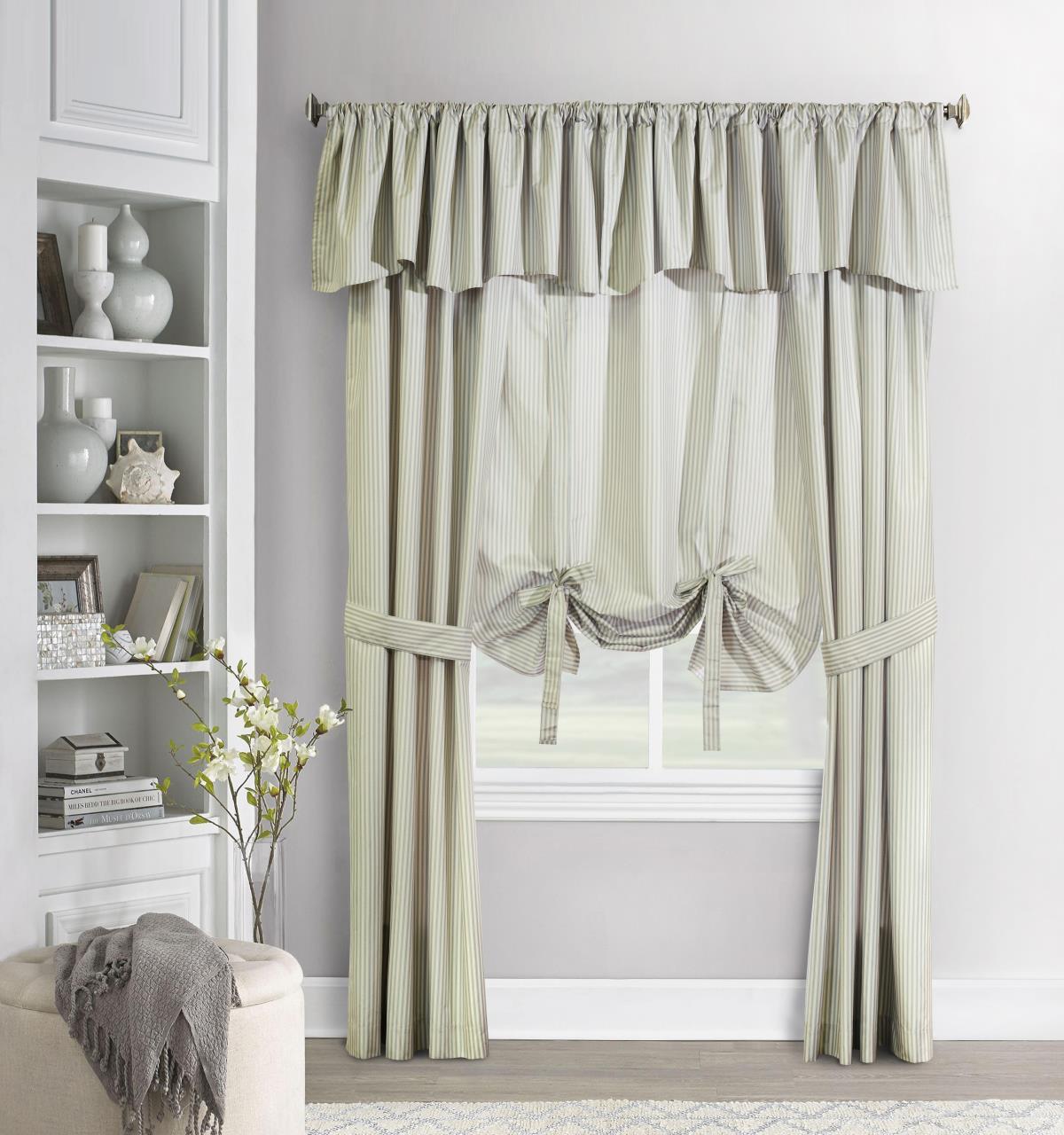 Ticking Stripe Curtain - 069556519817