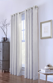 Medaglia Solid Grommet Curtain - 069556523432