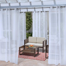 No Se'Em Insect Repellent Outdoor Curtain - 069556517301