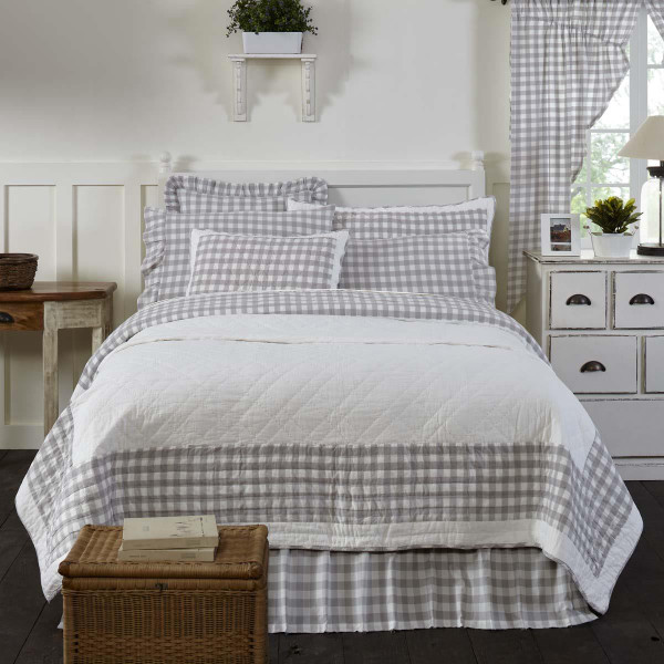 Annie Buffalo Grey Quilt Collection -