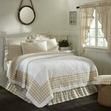 Annie Buffalo Tan Quilt Collection -