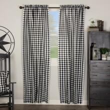Annie Buffalo Black Check Curtain Collection -