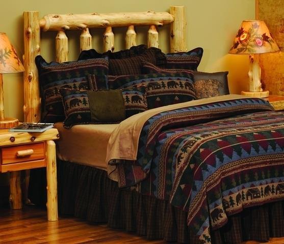 Cabin Bear Bedding Collection -