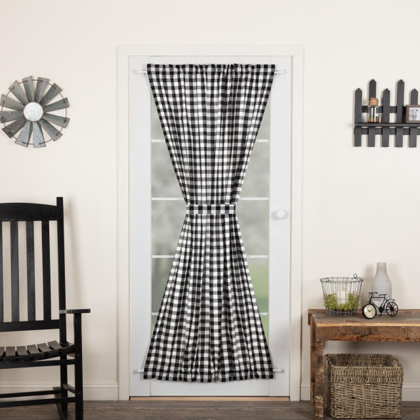 Annie Buffalo Black Check Door Panel - 840528178719