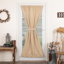 Burlap Vintage Door Panel - 840528179518
