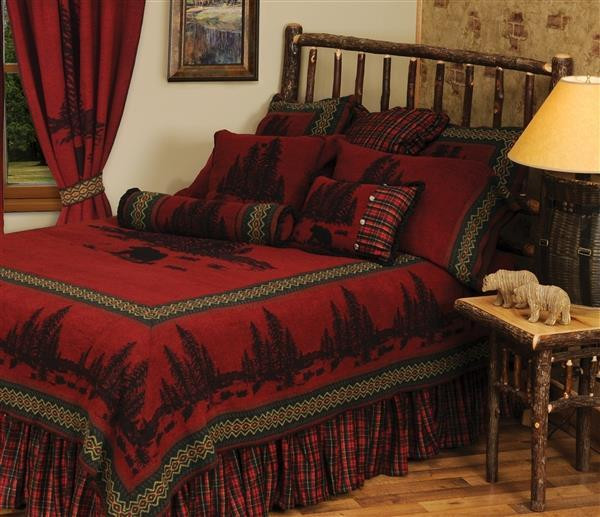 Wooded River Bear Bedding Collection -