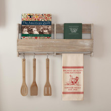 Sawyer Mill Red Chicken Muslin Unbleached Natural Tea Towel - 840528181160
