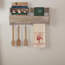 Sawyer Mill Red Windmill Muslin Unbleached Natural Tea Towel - 840528181191