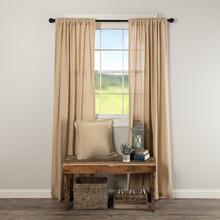 Burlap Vintage Curtain Collection -