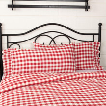Annie Buffalo Red Check Pillow Case Set - 840528182464