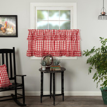 Annie Buffalo Red Check Ruffled Tier Set - 840528182549