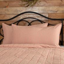 Sawyer Mill Red Ticking Stripe Sham - 840528184390