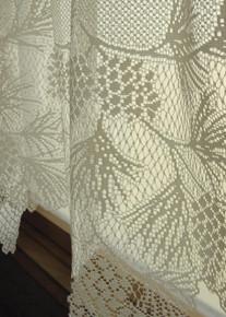 Woodland Lace Curtain Panel - 734573045501