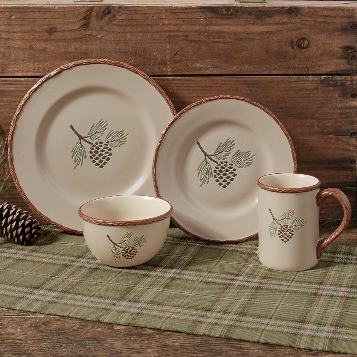 Pinecroft Rustic Dinnerware Collection -