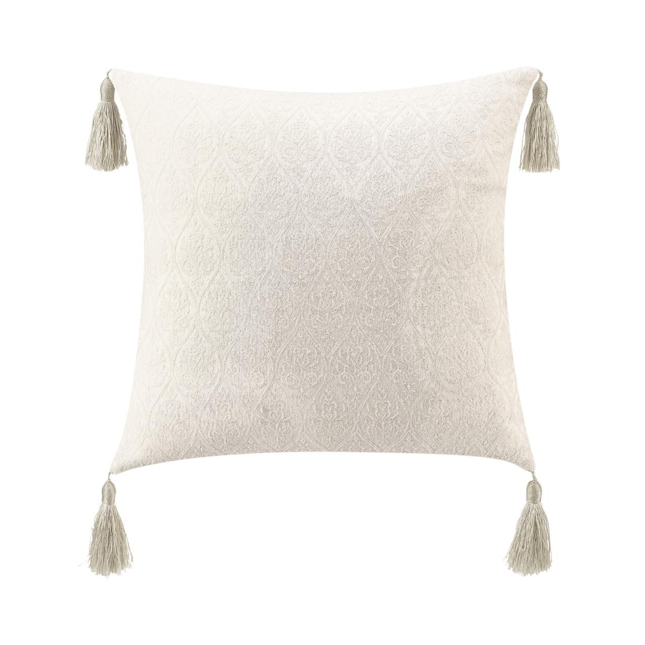 Belline 20w X 20l Tassels Pillow By Waterford Paul S Home Fashions
