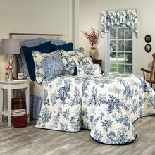 Bouvier Blue Bedding Collection -