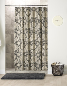 Belmont Harbor Navy Shower Curtain - 138641134102