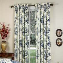 Bouvier Blue Curtains -