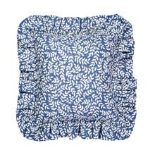 Bouvier Blue Square Pillow -