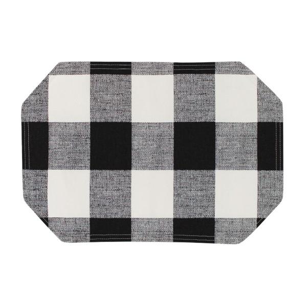 Black/White Placemat -